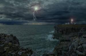 The Storm.. by AledJonesDigitalArt