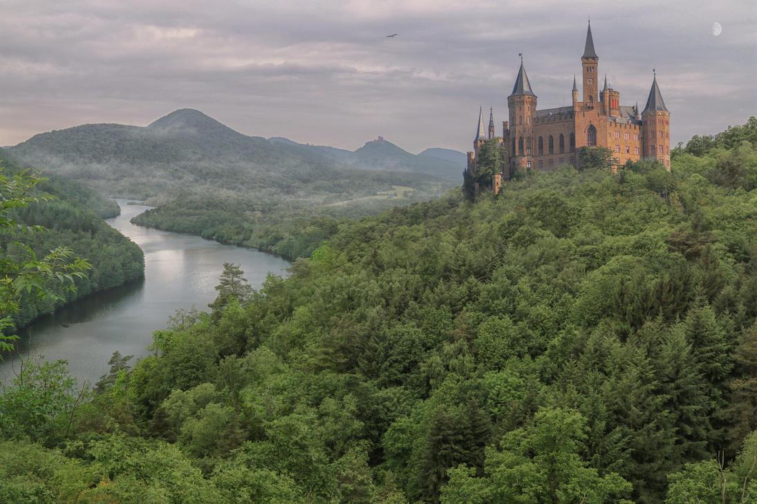 Castle In The Forest.. by AledJonesStockNArt