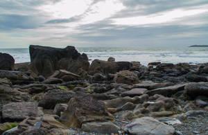 Marloes Beach stock 06.. by AledJonesDigitalArt
