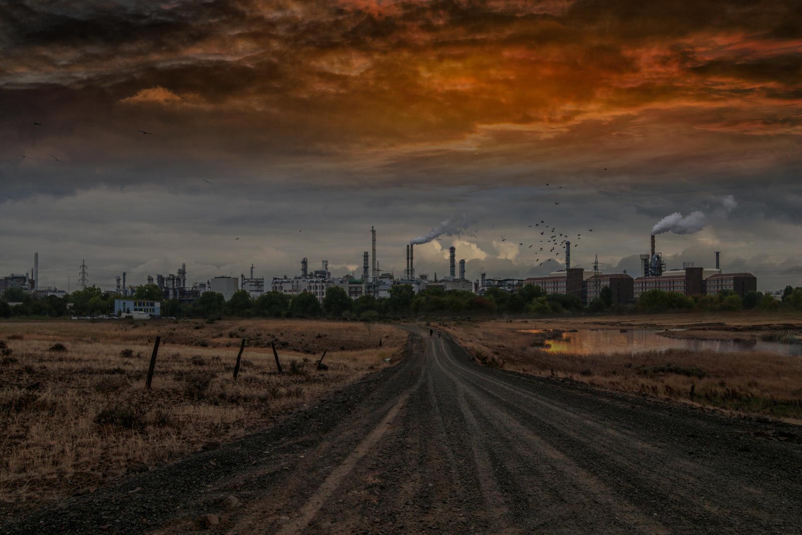 Urban Industry.. by AledJonesStockNArt