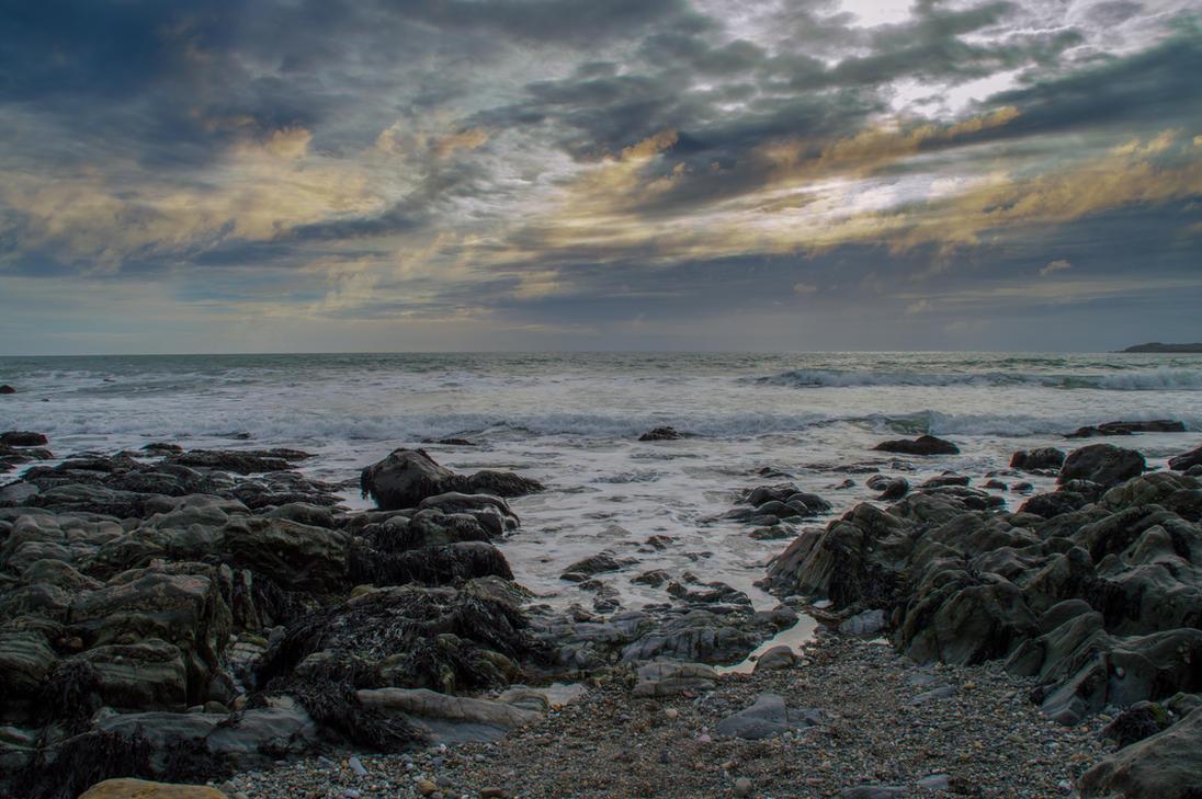 Premade seascape 01 July 2017.. by AledJonesStockNArt