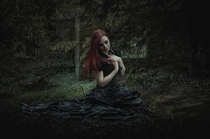 Sorrow.. by AledJonesDigitalArt