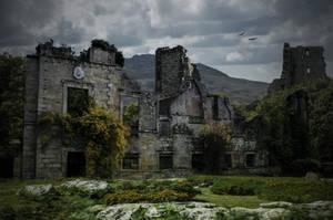 The Old Ruins.. by AledJonesDigitalArt