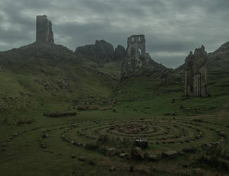 Enchanted Lands.. by AledJonesDigitalArt