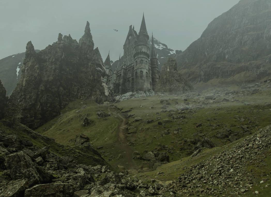The Castle.. by AledJonesDigitalArt