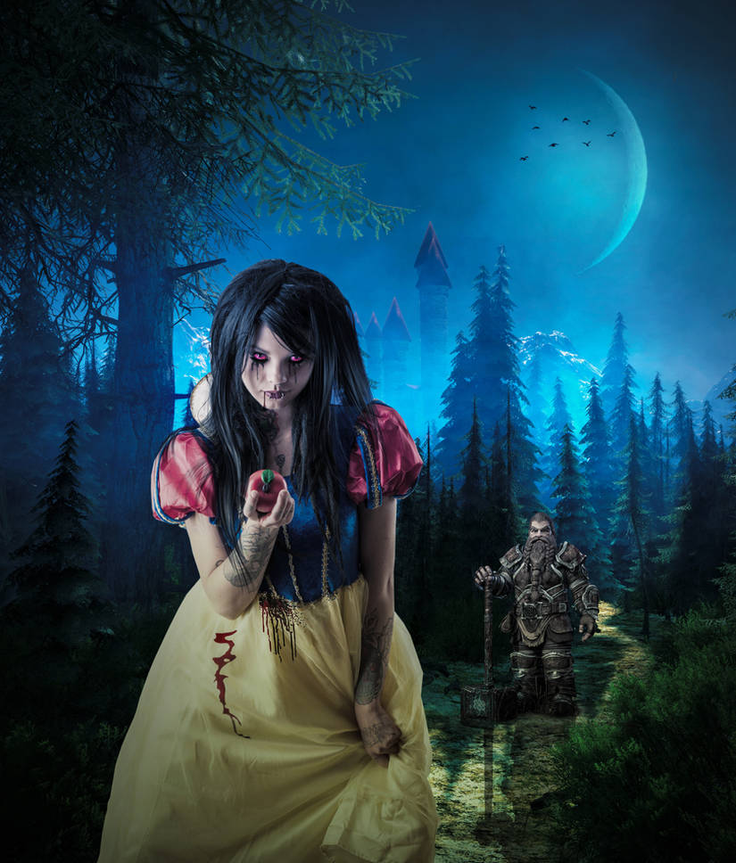 Twisted Snow White and the Twisted Dwarf..