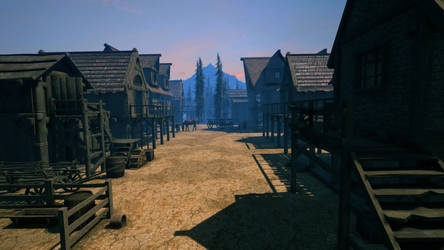 Western Town Premade..