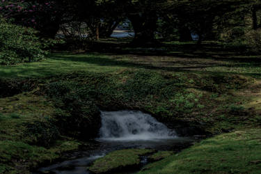 Premade Background Waterfall