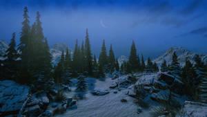 Winter Scene Stock October 2020..