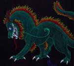 Black paper Dragon