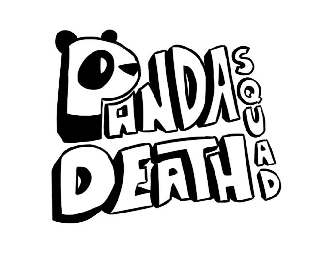 panda death squad text logo by siraffe on deviantart