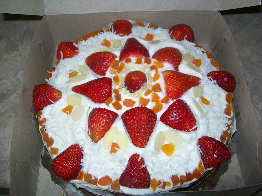 Cake Decoration With Fruit Milofi Com For