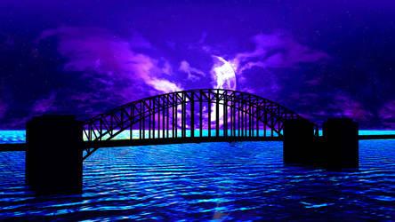Sydney Harbour Bridge by the-undrawable
