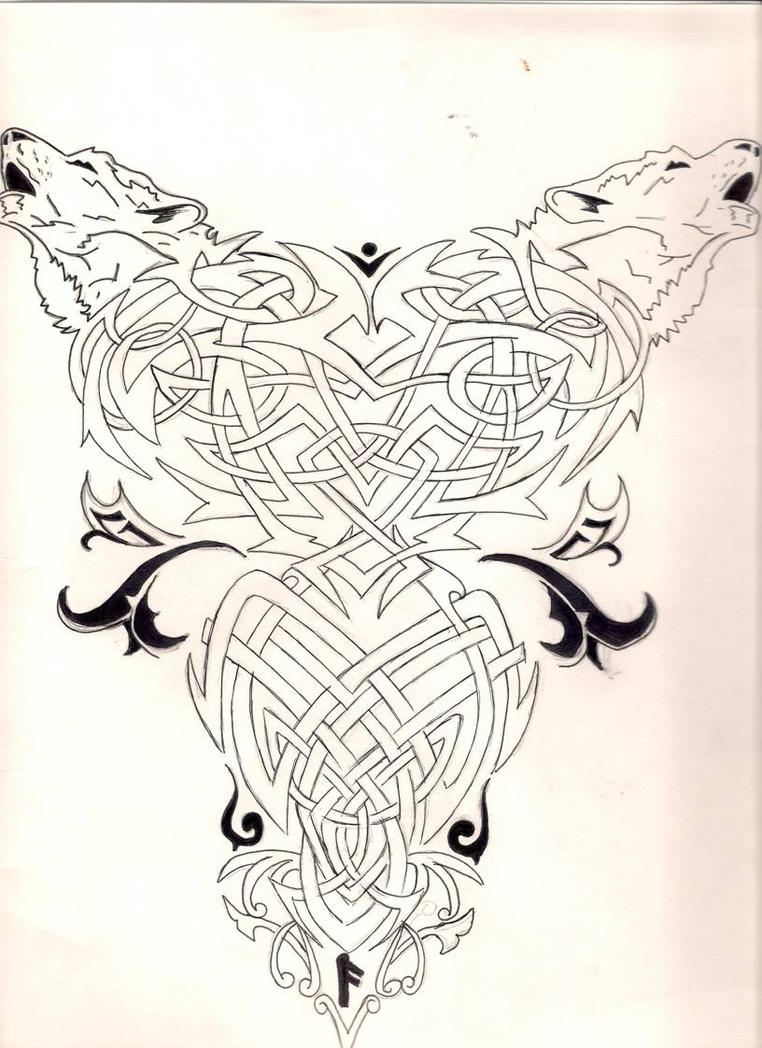 Traditional Tattoo Line Drawing : Back tattoo line art by vampirexxkissesxx on deviantart