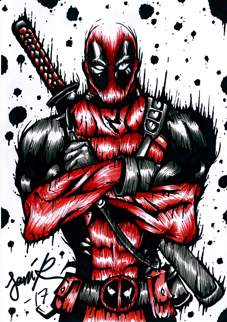 Deadpool by BurgerBell