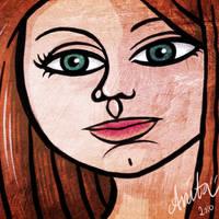 Redhead by Kalliope69