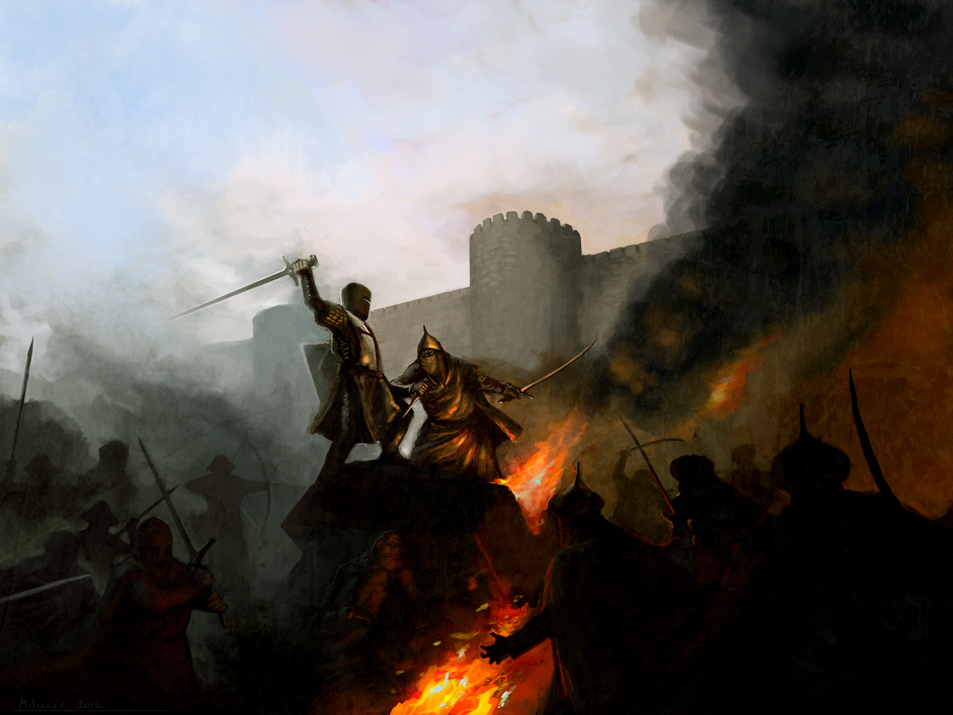 Crusader Kings 2 Loading Screen by zenarion