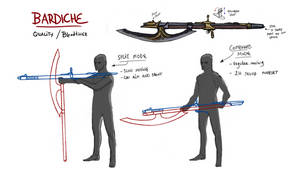 Vaati Vidya Bloodborne 2 concept art: Bardiche