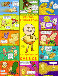 Captain Cheezeball - The Powers of Cheeze by SpacedMann