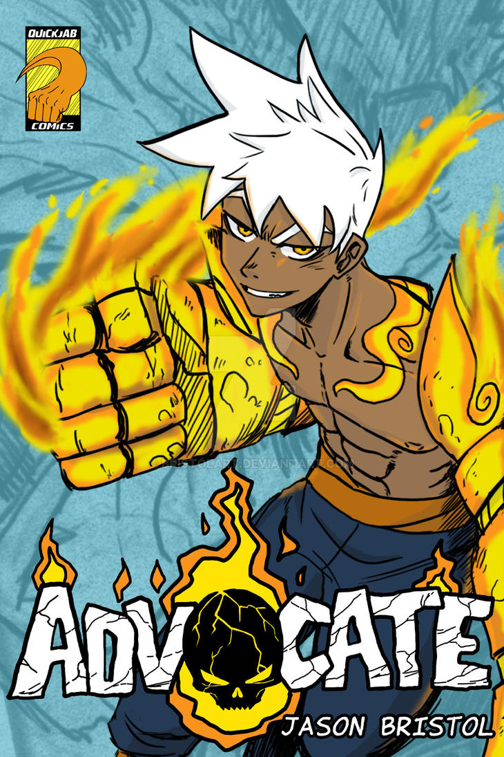 ADVOCATE One shot Cover by bristolart
