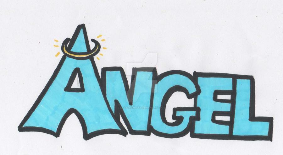 graffiti , Angel by lady,Adams88