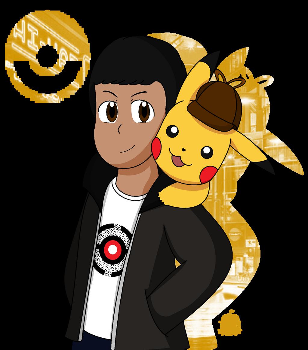 Tim Goodman And Detective Pikachu By Theclemontcreator On Deviantart