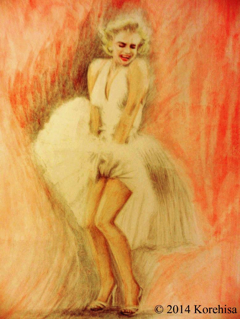 Marilyn Monroe by korehisa