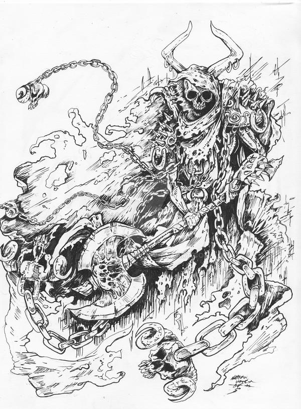 skeleton warrior design by samurai30 on DeviantArt