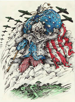 Uncle Sam Colored