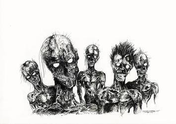 Zombies by samurai30