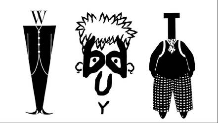 TYPE FACES by sukrang