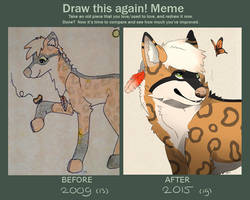 Draw this again 2009 - 2015 by Savkate