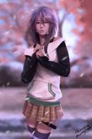 Mizore Shirayuki by HeroDees