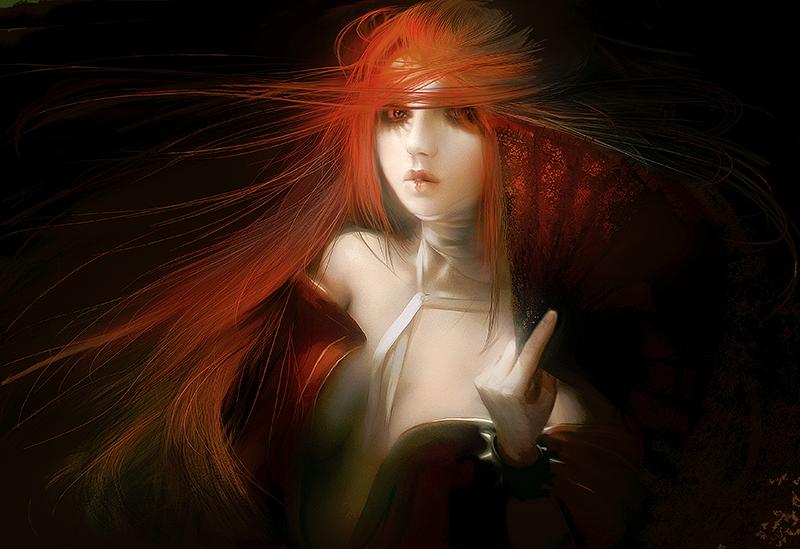 Dark geisha by HeroDees