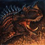 Commission #7 - Centigrade Ceratosaurus