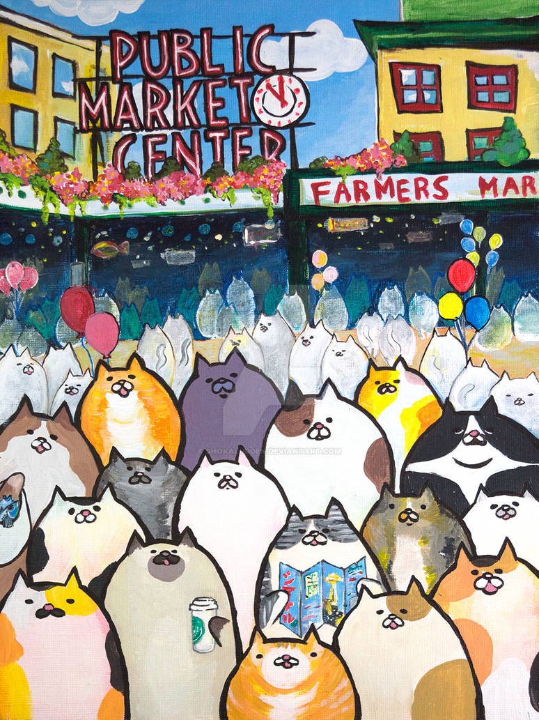 Pike Market Cats