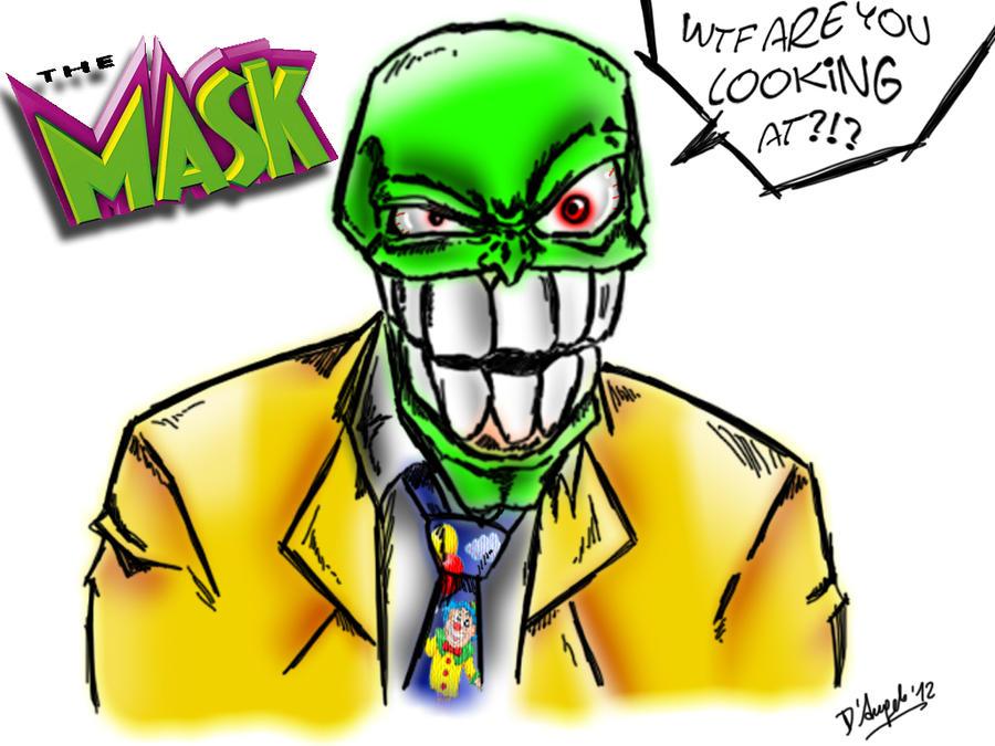 The Mask- BIG HEAD by simotaku