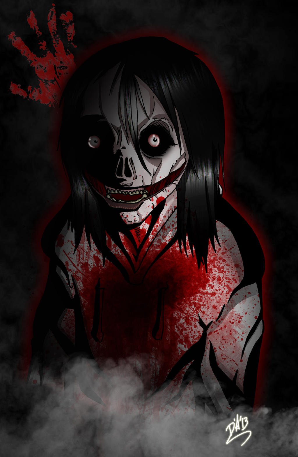 jeff the killer publish with glogster