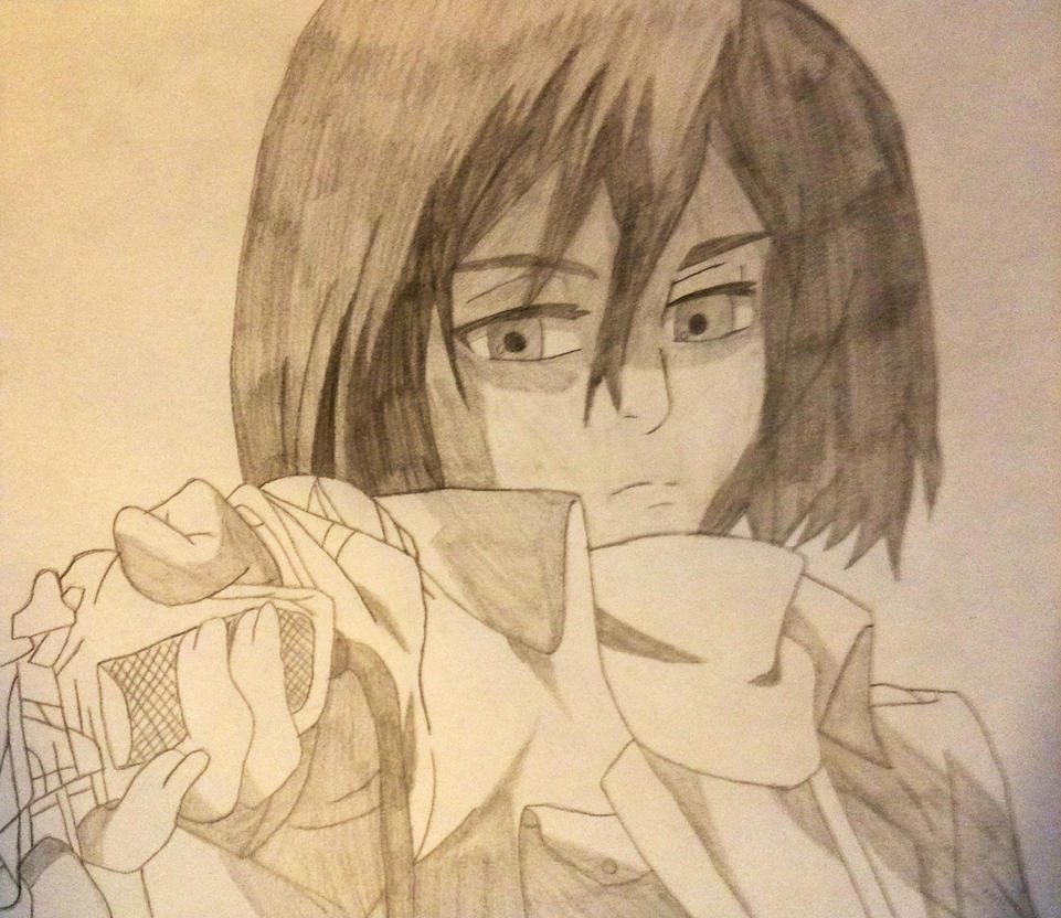 Super cool mikasa by happymo99 on deviantart for Super cool drawings