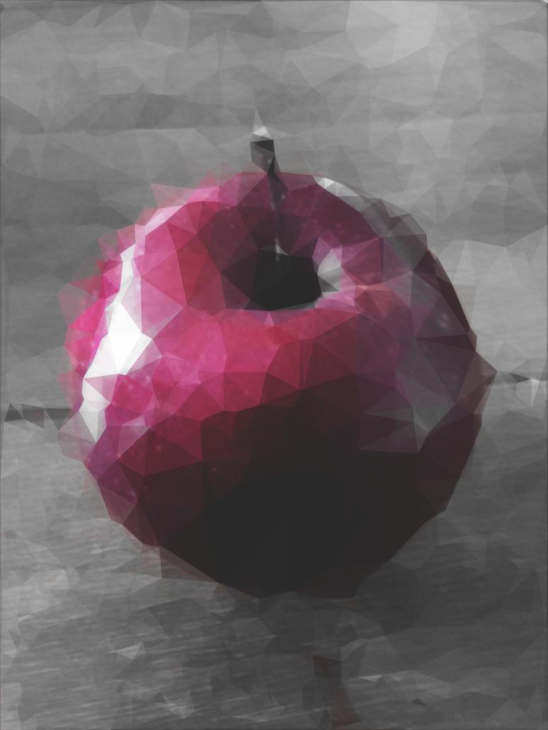 Digital Apple by MarmaladeSunshine
