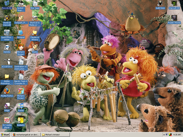 Michan's Fraggle Rock Desktop by Merry-Muse on DeviantArt