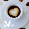 Coffe and heart icon by sexylove555