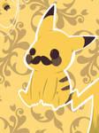 { Pallet Challenge #2 } Pikachu! with ze mustachio
