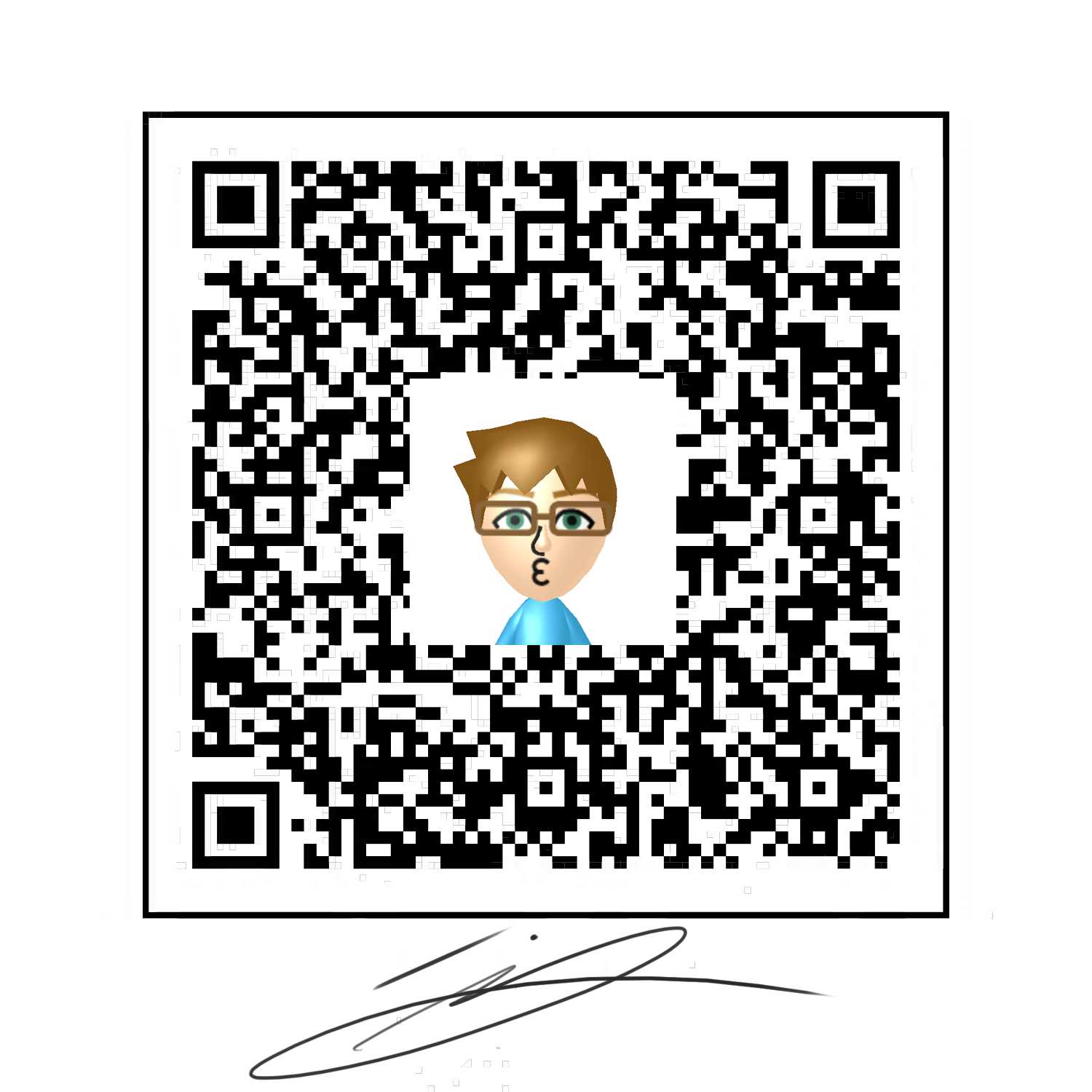 Quinns Mii Qr Code By Sterlingquinn On Deviantart