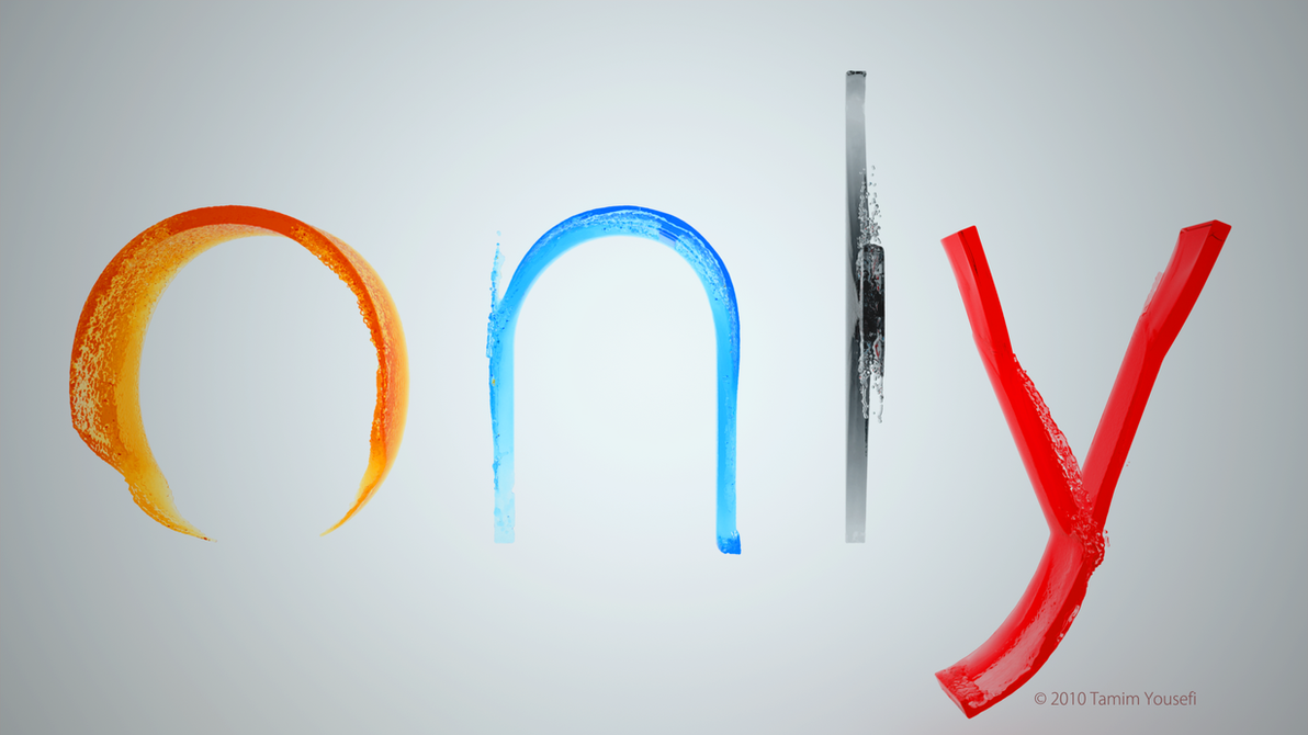 3D Letter Filling Animation By Fruchtkanone
