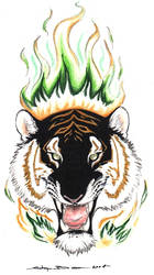 Still Burning 2004 by ebonytigress