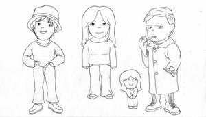 chibi students by Jacq-Siir