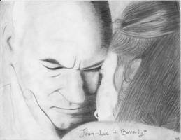 Picard and Crusher - Attached by lacrevette22DugSt