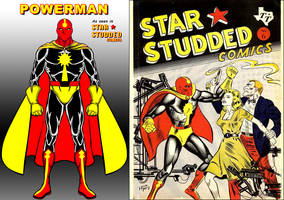 Powerman from Star*Studded Comics by Eldacur