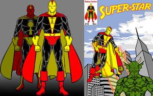 Superstar-Side by side with Powerman by Eldacur
